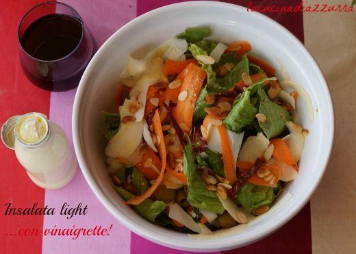 La Cucina di Azzurra: INSALATA LIGHT CON VINAIGRETTE PARADISIACA!!!!