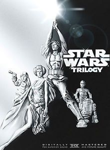Good cond-$16 to $50 -STAR WARS TRILOGY (DVD, 2004, 4-Disc Set)**BRAND NEW**FREE SHIPPING**