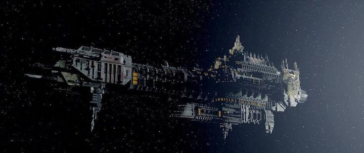Frégate d'assault de classe Glaive : le PIMKY   StarMade.fr   Communauté France StarMade