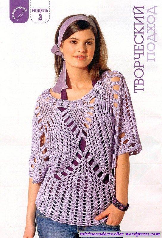 Blusas | Mi Rincon de Crochet | Página 7