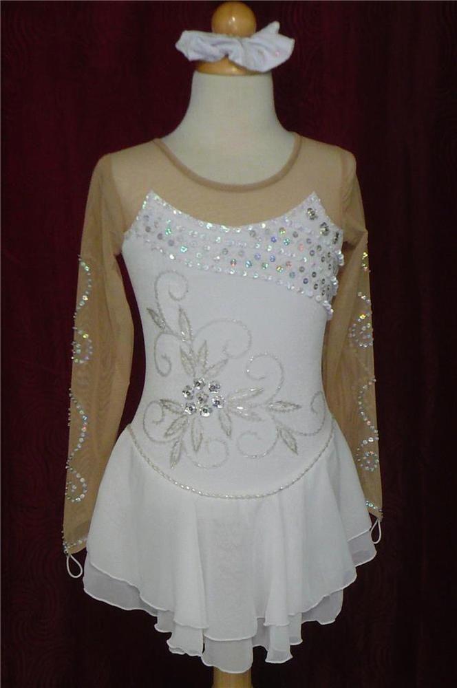 Kim Competition Ice Skating Dress Child Size 8 | Sporting Goods, Winter Sports, Ice Skating | eBay!