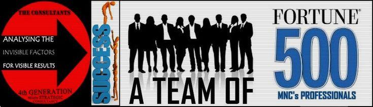 Our Team -Fortune 500 MNC's Ex Professionals