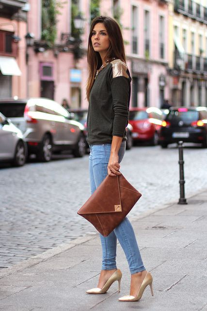 the code clutch | zara jeans | trendytaste