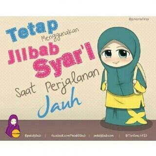 still syar'i with veil on the way