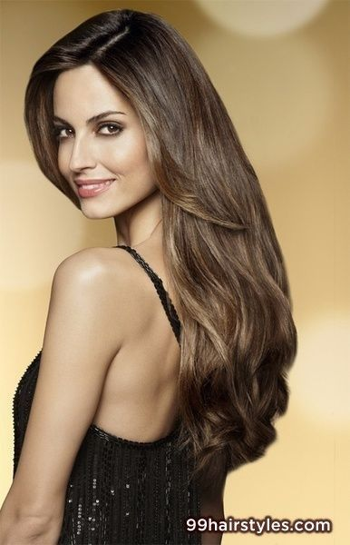 long brunette hair - 99 Hairstyles Ideas