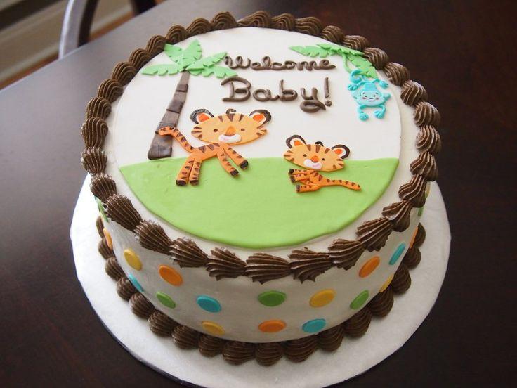 Fisher Price Rainforest Jungle Safari Baby Shower Cake fisher price rainforest jungle safari baby shower cake