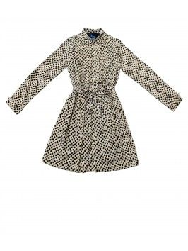 AGENA FRONT BUTTON DRESS