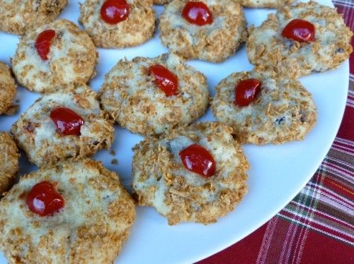 Old Fashioned Wheaties Cherry Blinks. Perfect for you Christmas Cookie ...