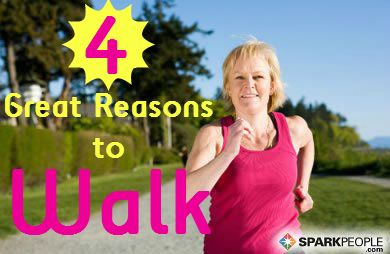 Health and Fitness Benefits of Walking | via @SparkPeople #fitness #exercise #walk