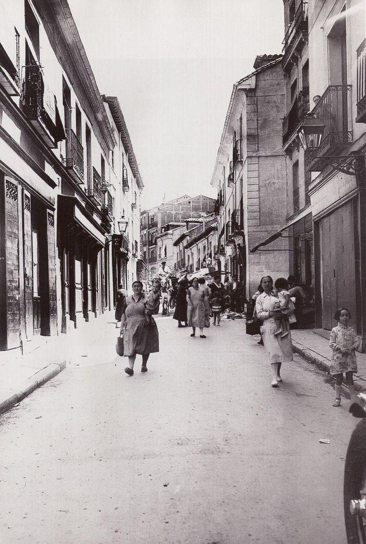 Spain. La Cava Alta, Madrid, 1930