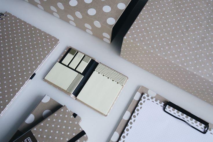 Potencialize suas ideias adesivos decorados em três tamanhos diferentes. Papelaria criativa.