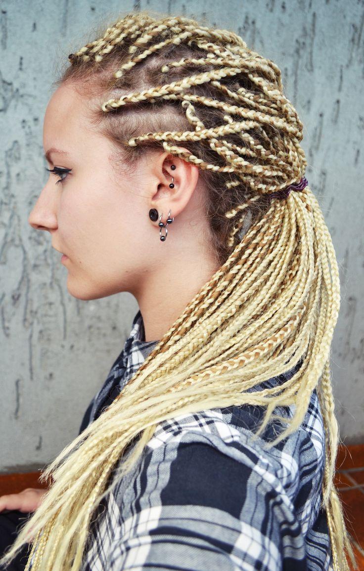 braids blonde rastas cabelo