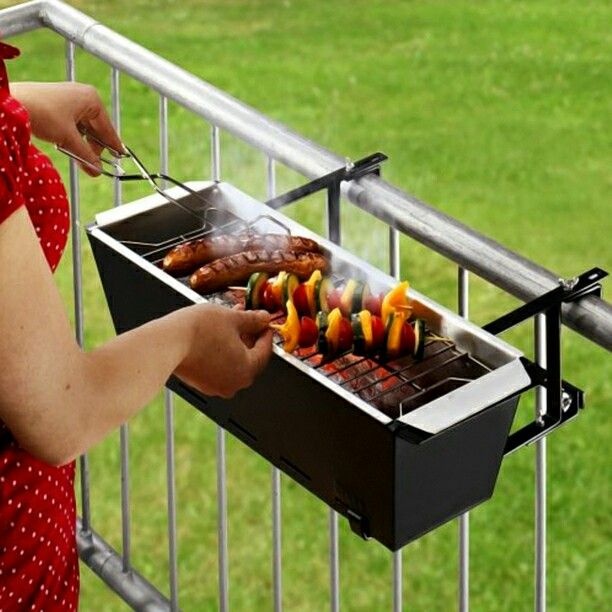 High Quality A Portable And Balcony Friendly Grill