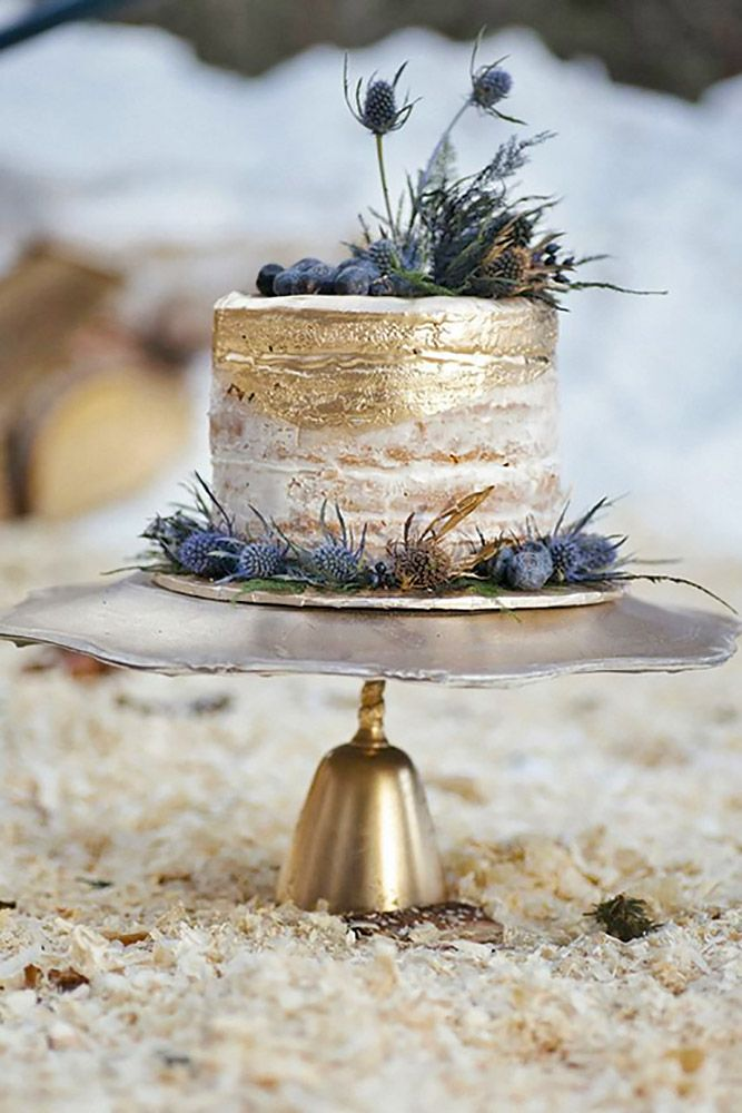 small rustic wedding cakes 2