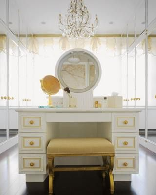 white and gold vanity table. White and Gold Dressing Table 32 best images on Pinterest