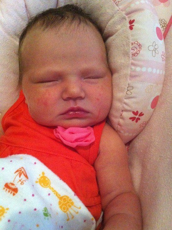 My baby girl at 3 days old#Pin By:Pinterest++ for iPad#