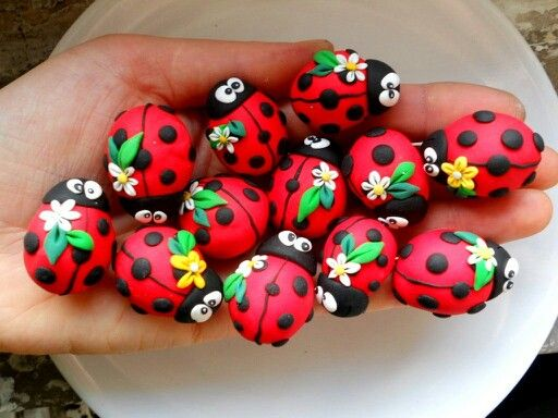 Handful of Ladybugs