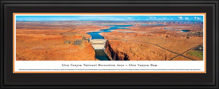 This Glen Canyon Dam Panoramic Picture  was taken by Blakeway Worldwide Panoramas and is available in many different formats!