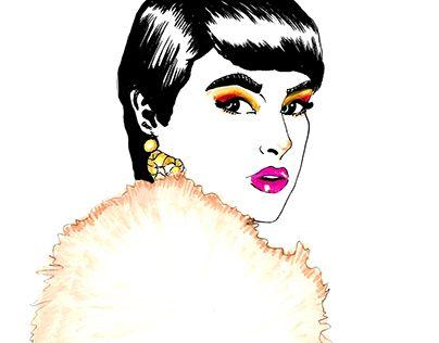 "Check out new work on my @Behance portfolio: ""Black Hair Pixie"" http://on.be.net/1LTTLq7"