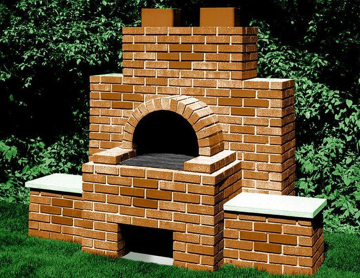 Backyard brick barbecue...: Brick Bbq, Google Image, Backyard Brick Smokers, Image Results, Brick Ovens, Firepit, Brick Grilled, Barbecue, Fire Pit