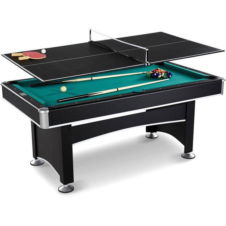 Arcade Billiard Pool Table with Table Tennis Top Accessory Kit Barrington 6 Ft   #Barrington
