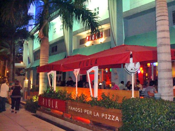 "Piola Pizza direct from Italy ""Pizzeria and Italian Restaurant"" Brickell - Miami Beach - Weston ~ Miami Food Review"