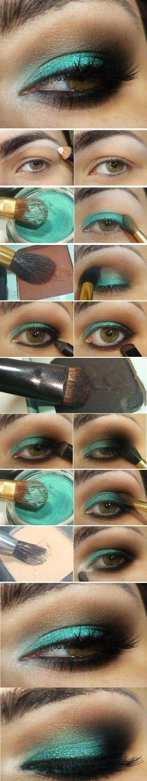 Emerlad Green Shade # Makeup Tutorials # Step by Step / Best LoLus Makeup Fashion