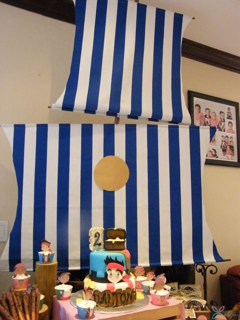 """Photo 1 of 21: Jake And The Neverland Pirates / Birthday """"An Ocean Front Jake and the Neverland Pirates Bash"""" 