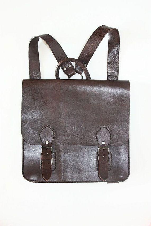 VIDA Leather Statement Clutch - AUTUMN EXUBERANCE LEATHER by VIDA mJ9y8kzBI