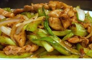 HCG Chicken Celery Stir Fry