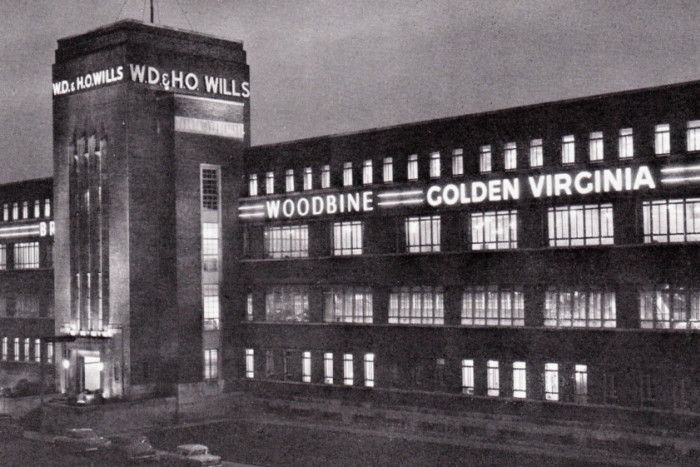 Image result for WD & HO Wills factory on Alexandra Parade, Glasgow