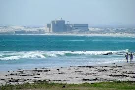 Melkbosstrand...Koeberg power station in the back ground.