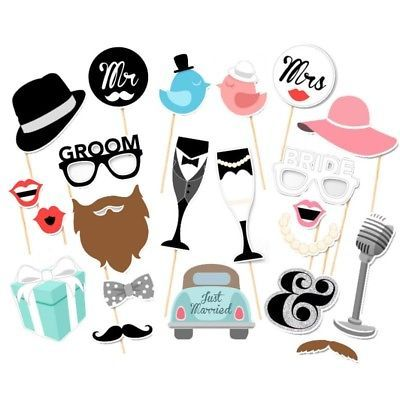 Fuuny-DIY-Mr-Mrs-Bride-Groom-Photobooth-Wedding-Photo-Booth-Props-Party-Mask