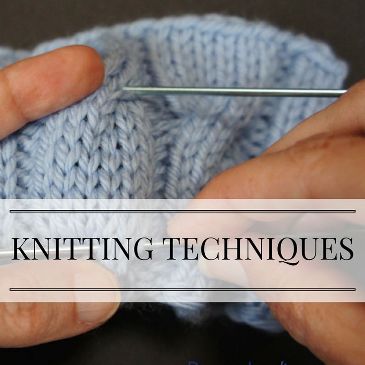 I love to learn new knitting techniques, in addition to teaching them, so I'm saving some of my favorites here--and sharing them on my blog too (PattyLyons.com/blog).
