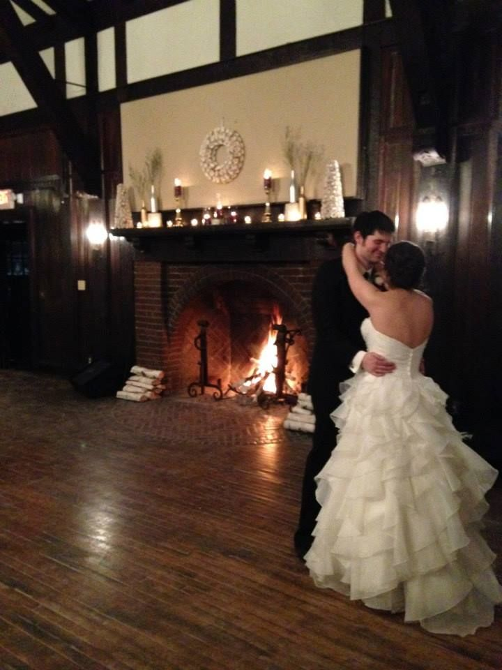 outdoor wedding venues minneapolis%0A First Dance in front of fireplace   Venue  Theodore Wirth Chalet   Minneapolis  Minnesota