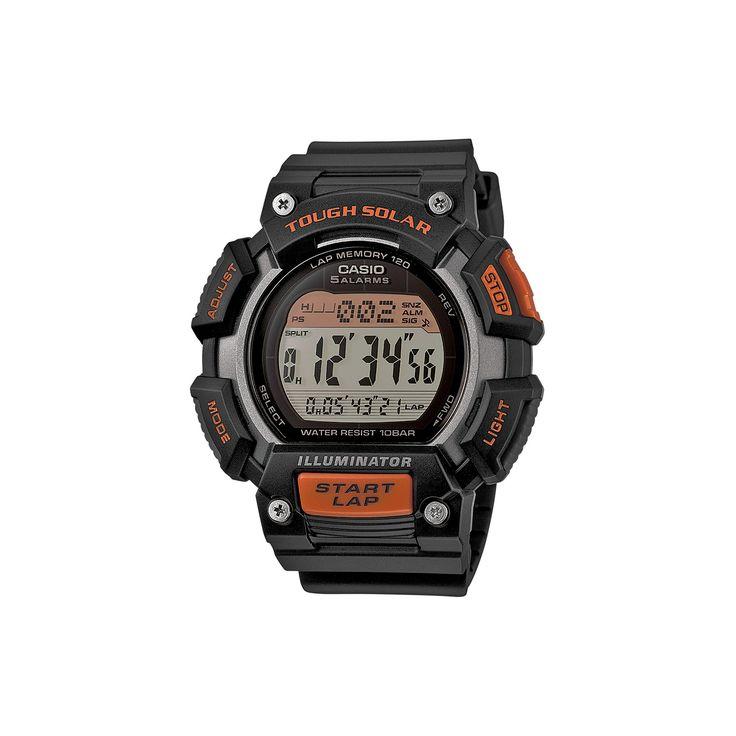 Casio Men's Tough Solar Digital Watch, Black