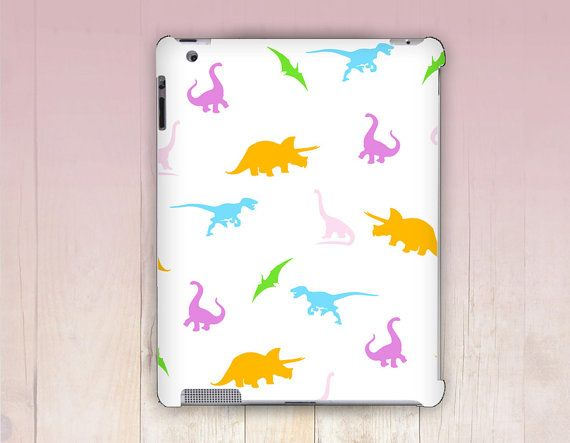 Candy Dinosaurs iPad Case For  iPad 2 iPad 3 iPad 4  by CRCases