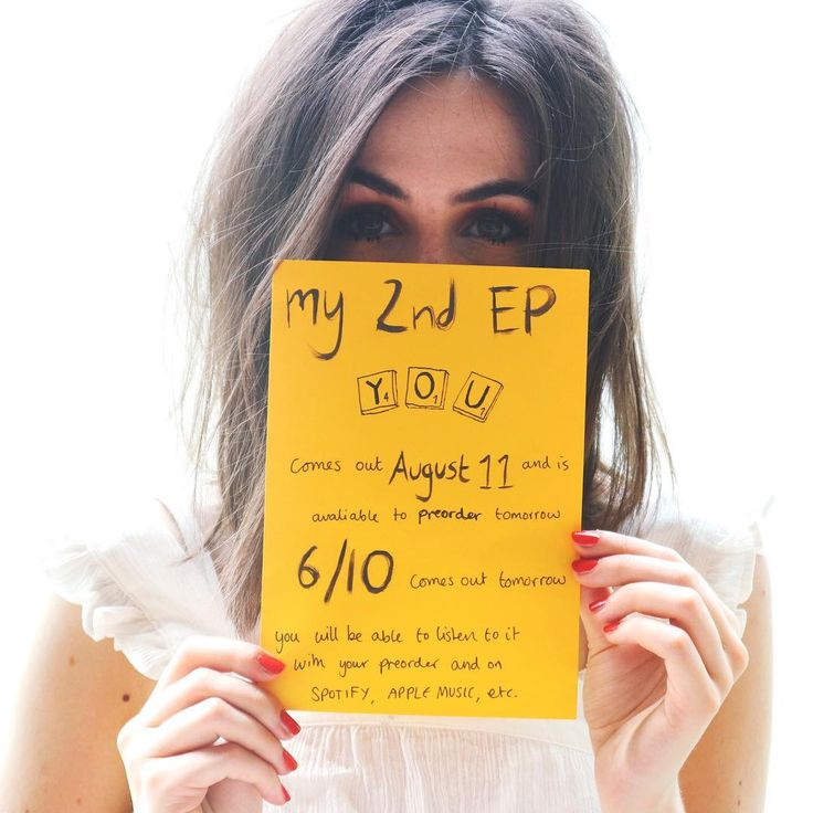 """✨ANNOUNCEMENT✨ my 2nd EP called """"You"""" will be available to preorder TOMORROW! Friday 7th July! (If you're in Australia and New Zealand you…"""" FINALLY IVE BEEN WAITING SO LONG pinterest: @ashlin1025"""