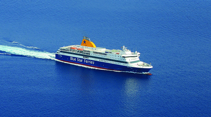Blue Star Ferries' educational and cultural initiative for primary school children from the Aegean islands