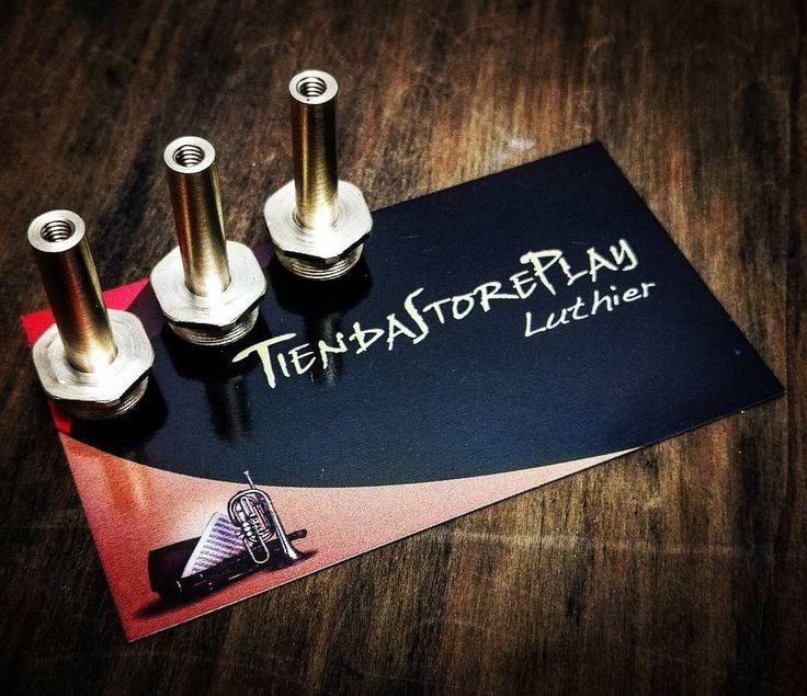 """54 Me gusta, 1 comentarios - Miguel Tiendastoreplay Luthier (@tiendastoreplay) en Instagram: """"Custom Trumpet Stem. Vástagos de Trompeta a medida.  www.instagram.com/tiendastoreplay…"""""""