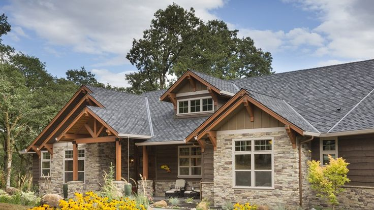 Beautiful nw ranch style home plan 1250 the westfall is a for Northwest craftsman style house plans