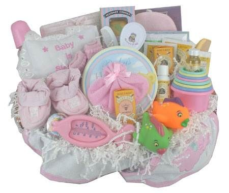 Best Baby Gift Baskets For Girls Images On Pinterest Baby