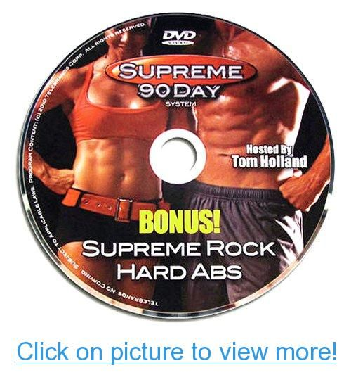 Supreme 90 Day Workout - Bonus DVD - Supreme Rock Hard Abs (Single DVD)