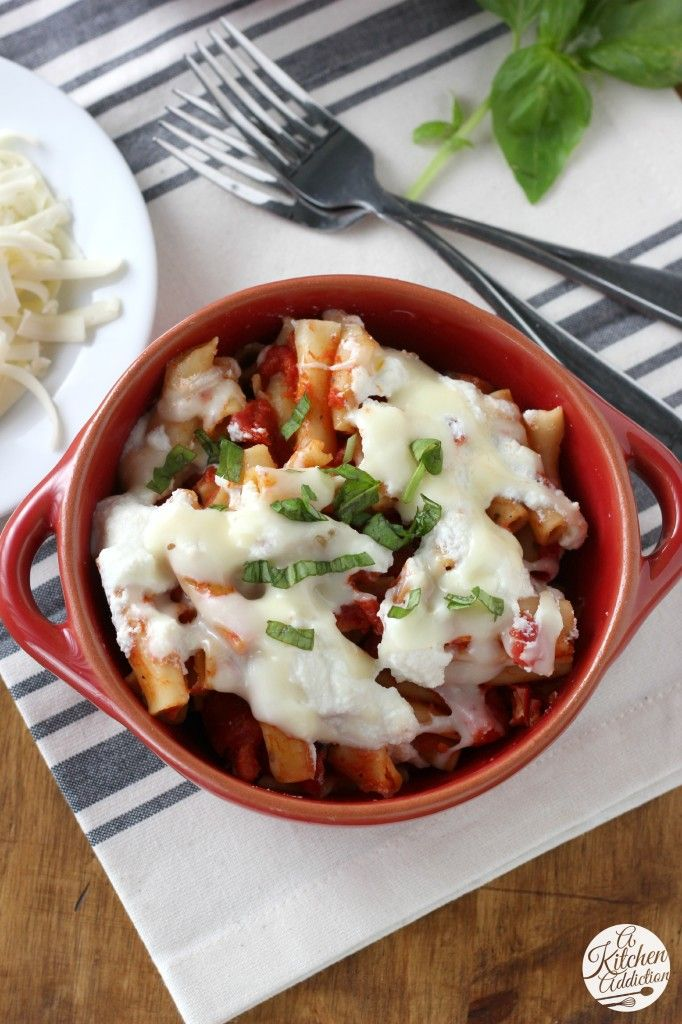 Slow Cooker Baked Ziti America S Test Kitchen