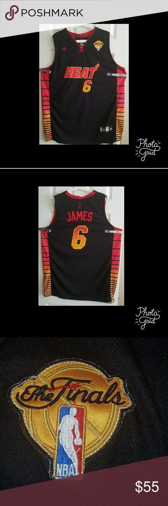 Men's Basketball Jersey LeBron James Miami Heat Men's Basketball Jerseys NBA Shirts Tees - Short Sleeve