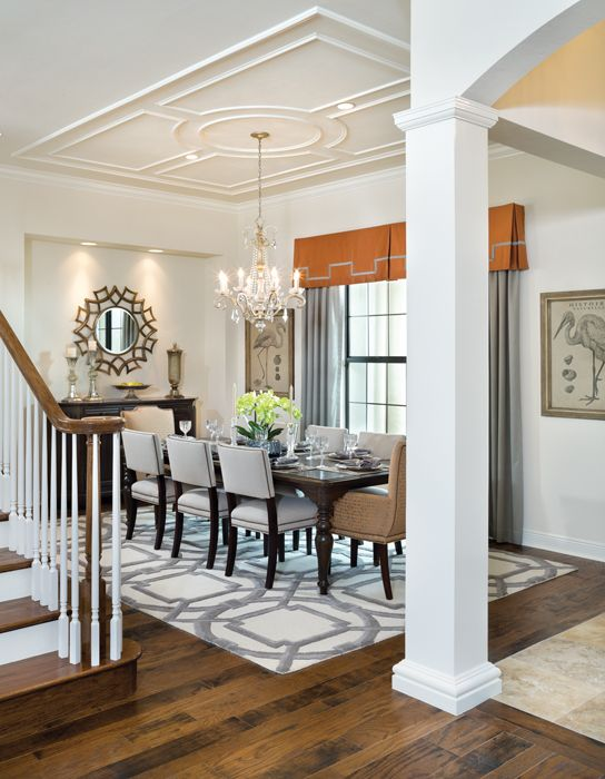 Gainesville Luxury Designer Home: 25+ Best Ideas About Orange Dining Room On Pinterest
