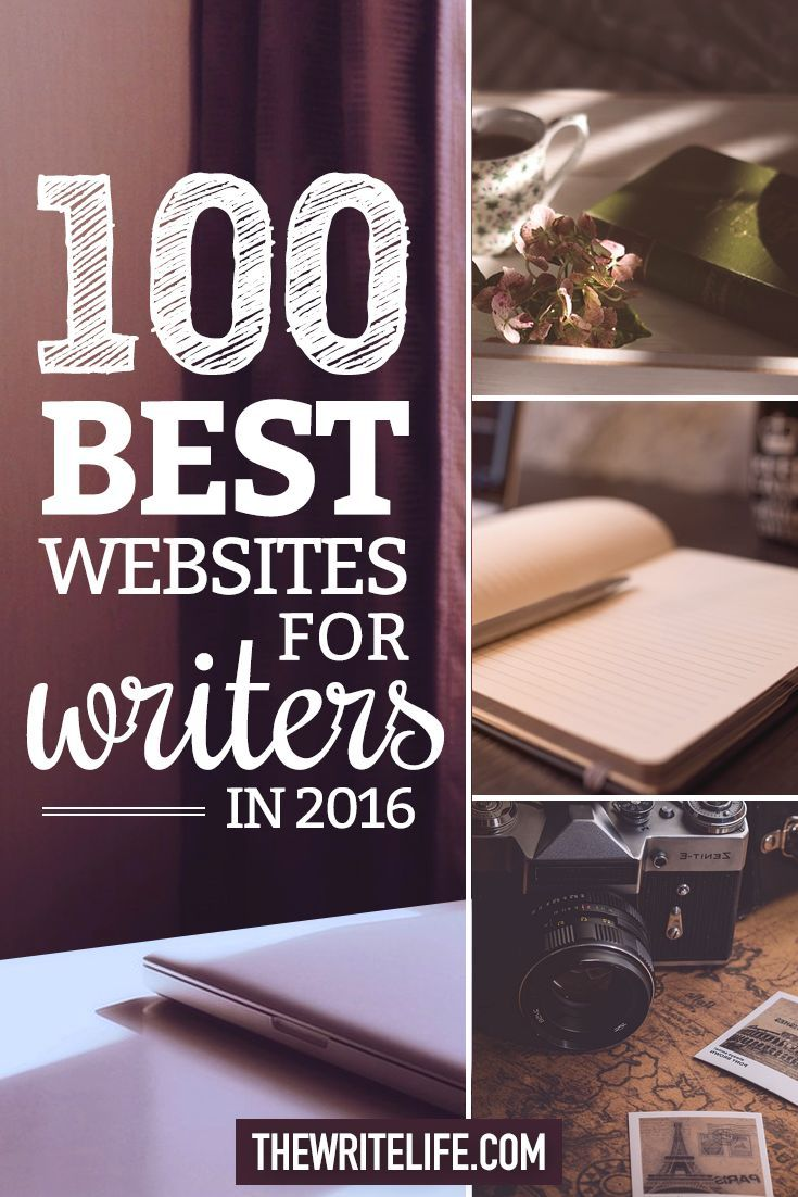 The 100 Best Websites for Writers in 2016                                                                                                                                                     More