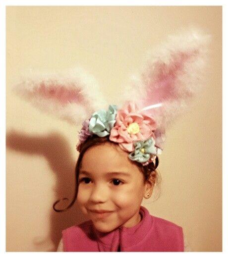 #myvintagelady #bunnyears #easter #hairaccesories #handmadeheadbands