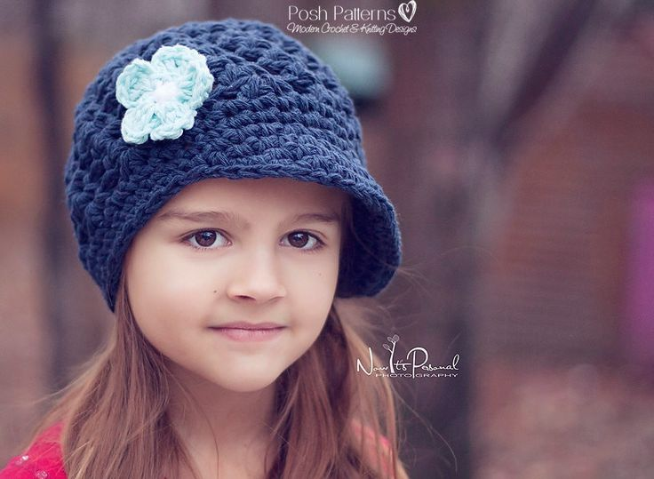 Mejores 41 imágenes de Crochet Newsboy Visor Hat Patterns en ...