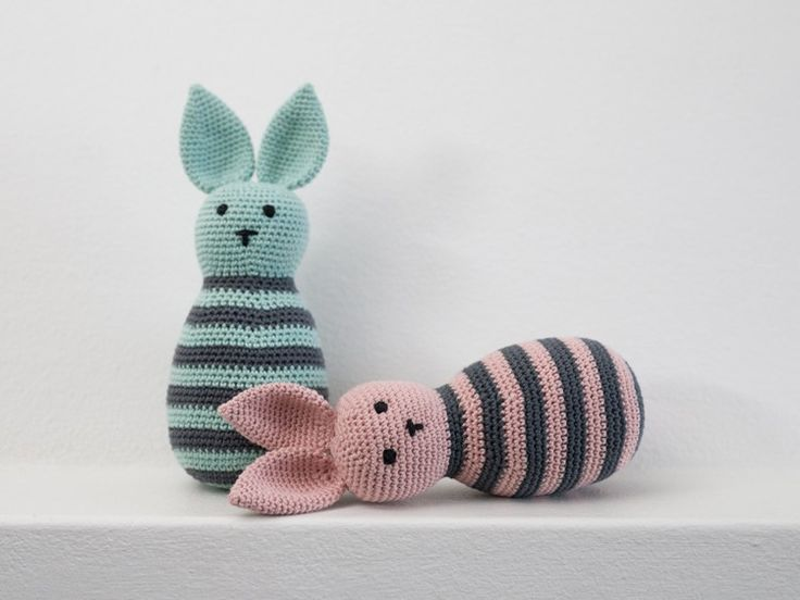 crochet bunny with free recipe